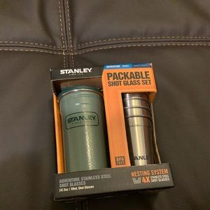NEW Stanley Packable shot glasses set  Stainless